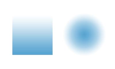 طراحی زیبای سایت با گرادیان رنگ